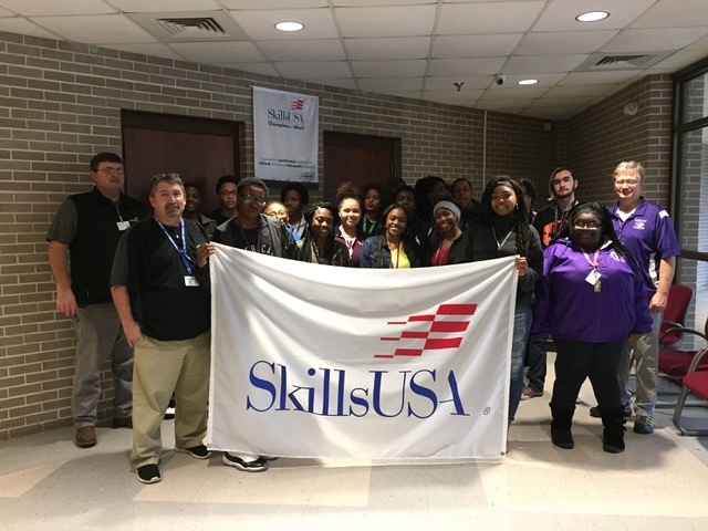 Students Explore SkillsUSA Programs at TCAT-Ripley