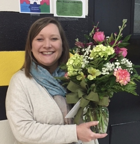 Mrs. Leah Camp Selected as Halls High School Teacher of the Year