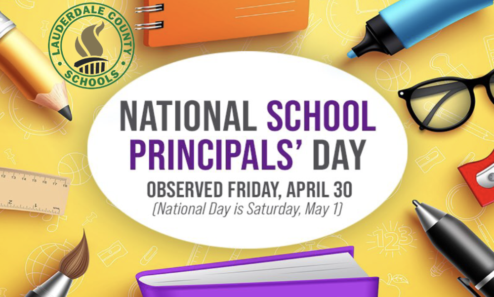 National School Principals' Day - May 1, 2021