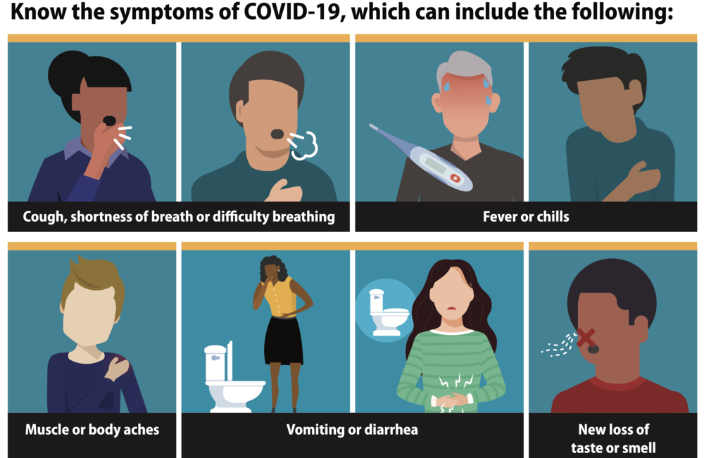 Important Parent Reminder on COVID/Flu Symptoms