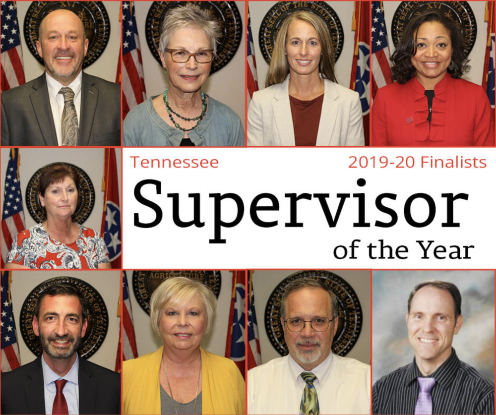 Farris Named Southwest TN Supervisor of the Year