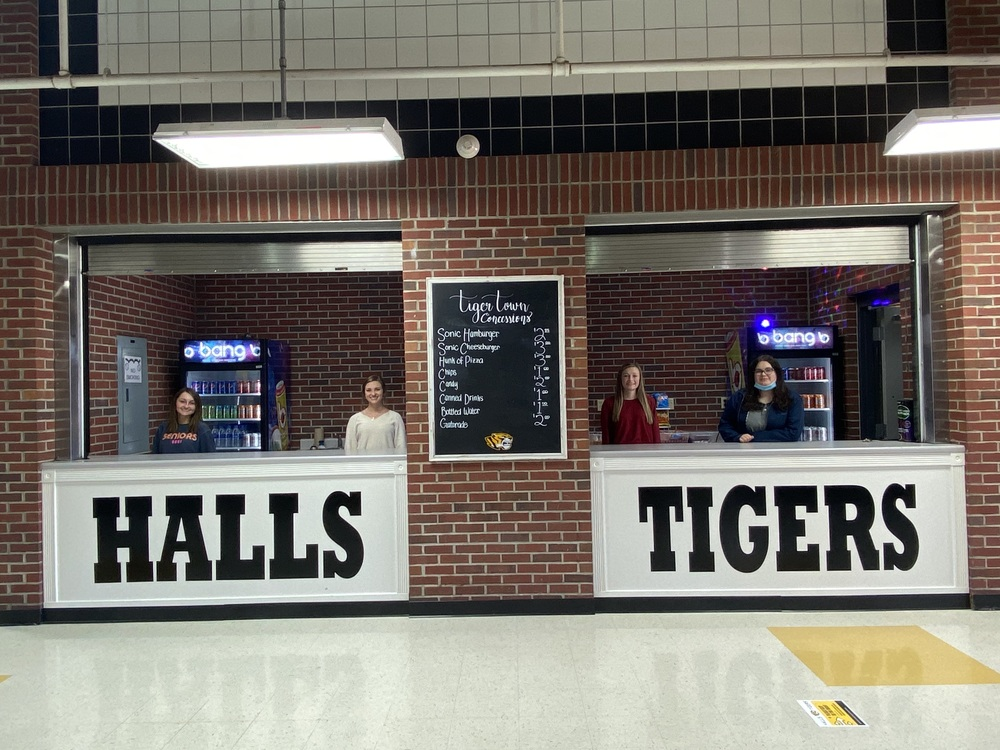 HHS DECA Opens Tiger Town Concessions - A School-Based Enterprise