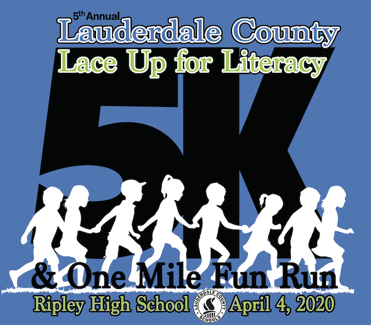 5th Annual Lace Up for Literacy - April 4, 2020