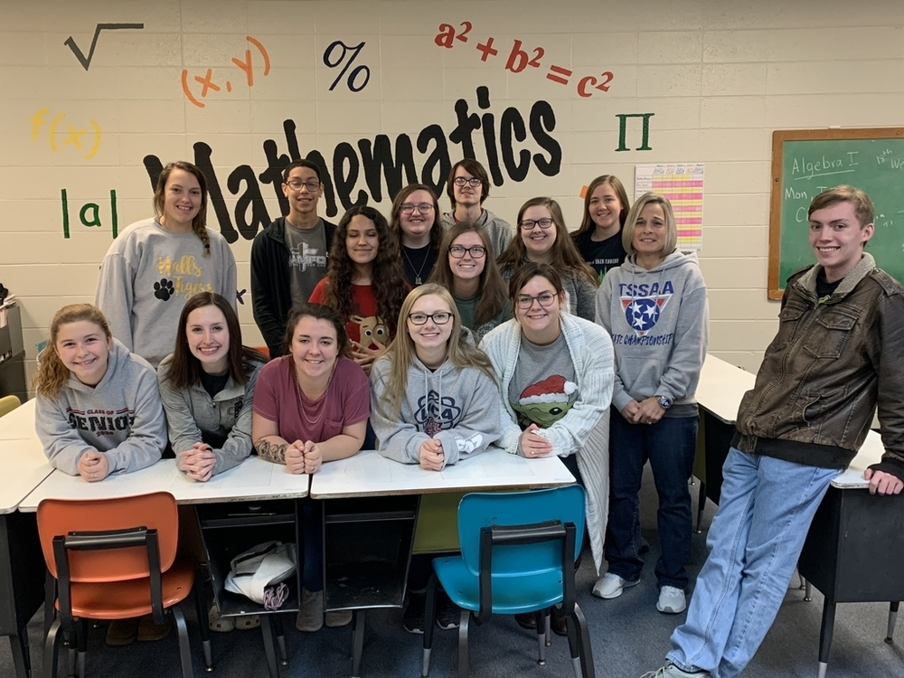 HHS Dual Credit Pre-Calculus Class Has 100% Pass Rate