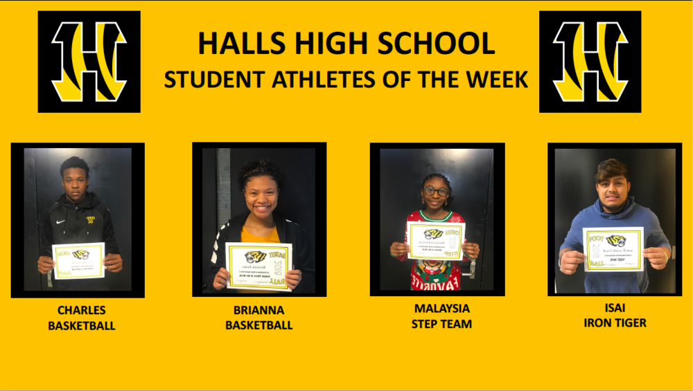 HHS Announces Athletes of the Week