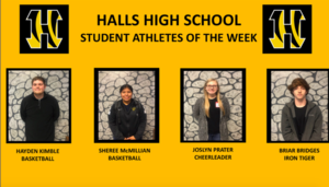 HHS Names Student Athletes of the Week