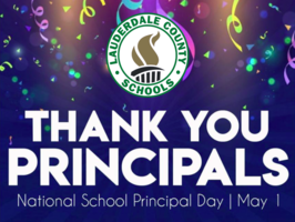 May 1st is National School Principal Day