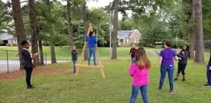 ACE Students learn practical team building skills.