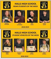 HHS Announces Students of the Week