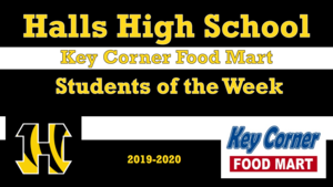 HHS Key Corner Food Mart Student of the Week