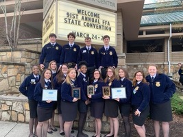 HHS FFA Members Attend Convention