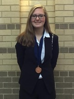 HHS HOSA Winner Qualifies for International Conference