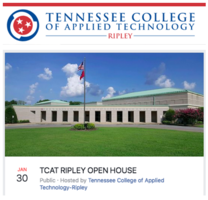 Ripley TCAT Open House - January 30