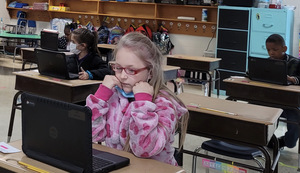 Grant Assists K-3 Students with New Technology