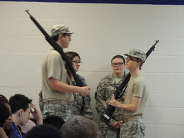 Junior ROTC visits RMS