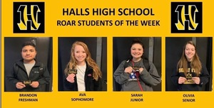 HHS ROAR Students of the Week