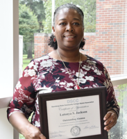 Dyersburg State Honors LCS Director of Secondary Education, Mrs. Latonya Jackson