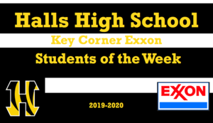HHS Key Corner Exxon Students of the Week