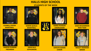 HHS Begins Student of the Week Spotlight
