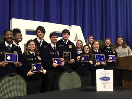 HHS FFA Students Win Accolades at West TN Awards Banquet