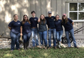 HHS's FFA Chapter Keeps Busy This Fall Season