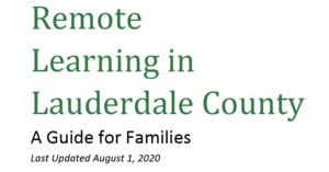 Remote Learning Guide Released for Families Who Enrolled