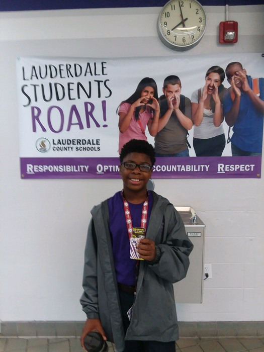Dekylan won 2 tickets to the Delta Fair for Roaring at RHS.