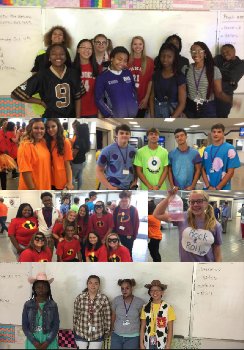 Students have enjoyed dressing up for homecoming this week.
