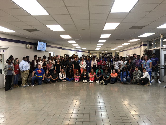Students celebrate career day for college app week
