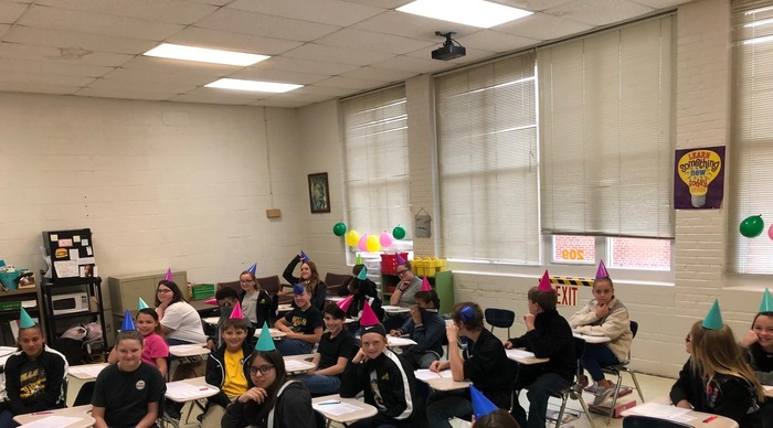 HJH celebrates test day!