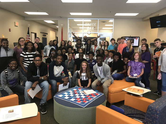 RHS Students got to your UTM Ripley center