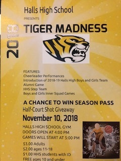Basketball Tiger Madness