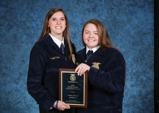 FFA National Finalist