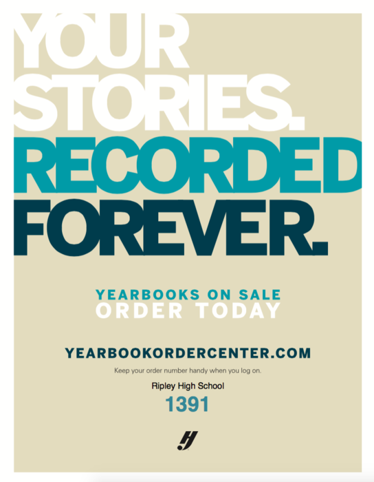 Yearbooks on sale now thorugh yearbookordercenter.com