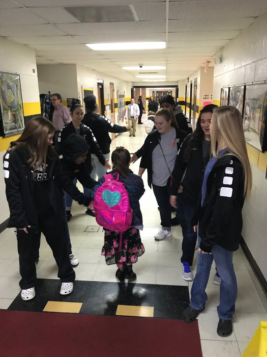 Lady Tigers welcome HES students