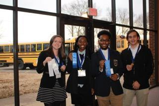 Ripley Winners who will be advancing to State Competition in Chattanooga