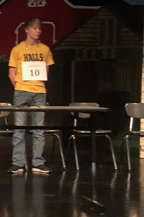 County-wide spelling bee