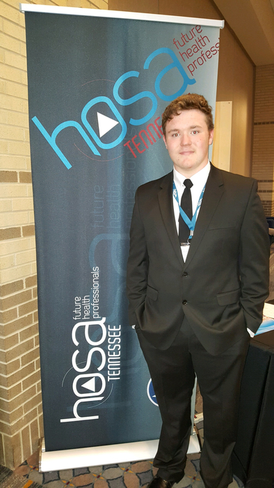 Over Spring Break Daxton competed at the HOSA State Competition in Chattanooga. He placed 7th out of 16 students in Medical Spelling.  This was his first time competing. #gotigers #ripleytigers