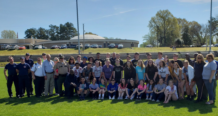 On April 10 Lauderdahip Lauderdale put on a mock crash for RHS Juniors and Seniors. This is done every year to bring awareness to students of the dangers of driving under the influence or riding with someone under the influence.