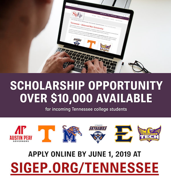 There is an opportunity for a $10,000 Scholarship for Tennessee Students to various colleges.