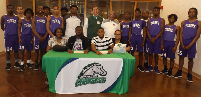 Ripley High School is extremely proud of Jermaine and Jamari. These two young men have signed to attend and play at Columbia State in Columbia Tennessee. We wish them well and know they will make us proud.