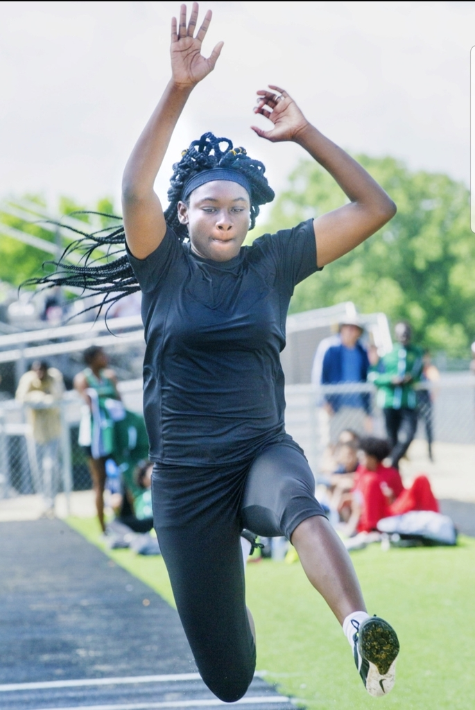 Tamia is Sub-State Champion in long jump and qualifer at TSSAA State Meet.