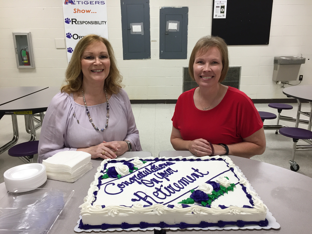 We would like to wish a Happy Retirement to Mrs. Lois Ferrell and Mrs. Stacey Horn! We have loved having them as part of our RHS family.