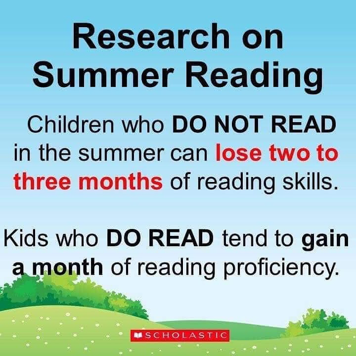 Read with your child this summer!