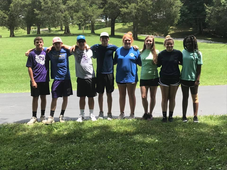 Ripley FFA Members are enjoying Camp Clements! So far, they have attended sessions, leadership classes, and met their teams. After lunch these campers will start competing in various sporting events!