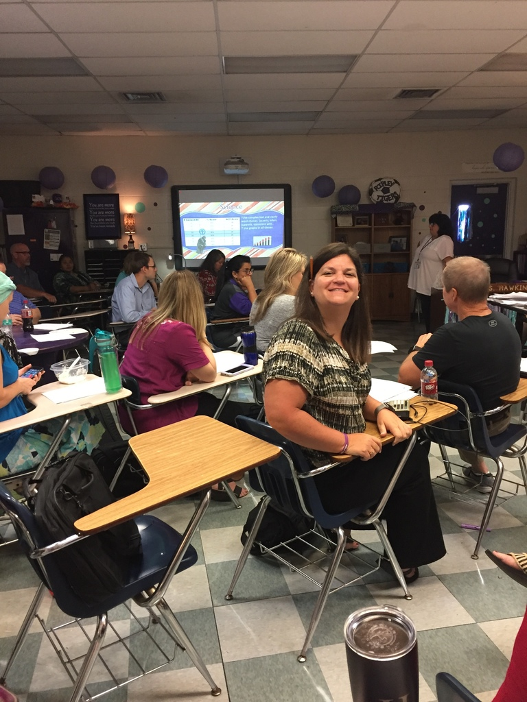 Math Teachers preparing for the new year.