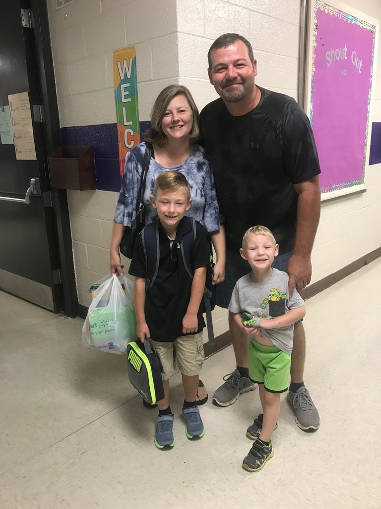 First Day of School at RPS