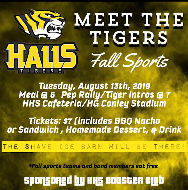 Save the Date!! Meet the Tigers #tigertough