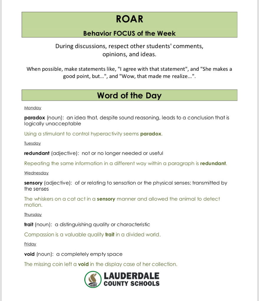 Week 4 FOCUS