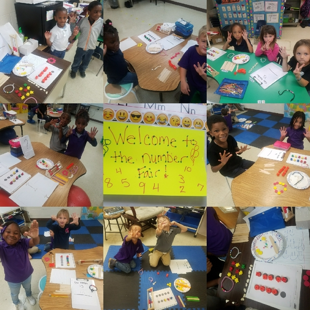 Number Fair at RPS